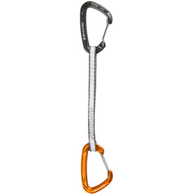 Skylotec X-Clip-Alp Quickdraw 18cm dark grey/orange